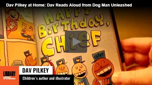 Library of Congress and Dav Pilkey
